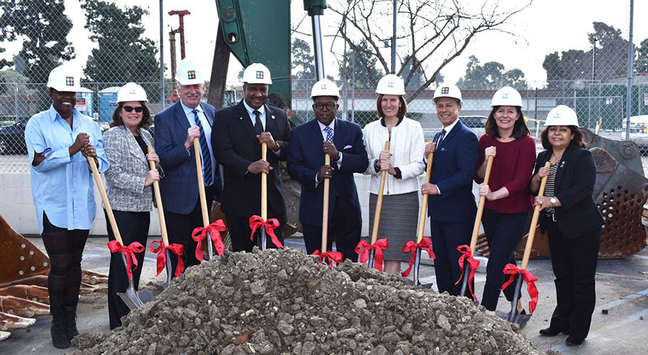 Linc Housing and National CORE Join Supervisor Mark Ridley-Thomas and Inglewood Mayor James Butts Jr. to Break Ground on 101 New Affordable and Supportive Homes