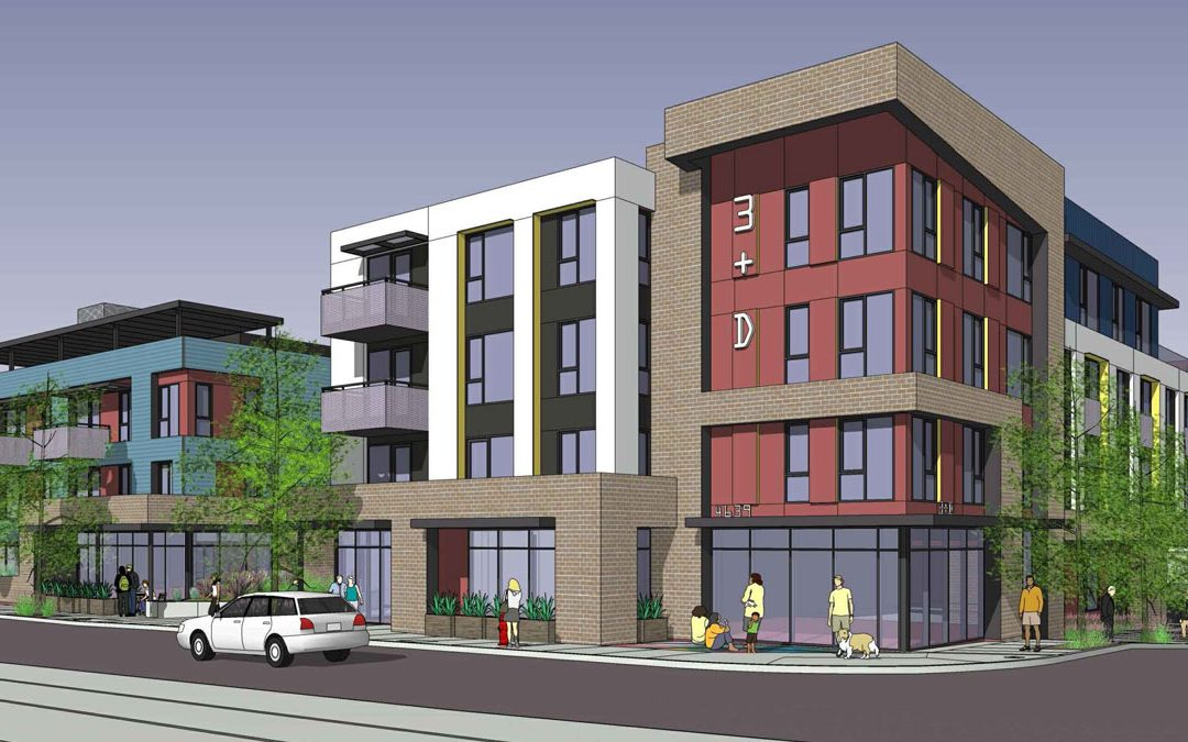 3rd & Dangler architect rendering