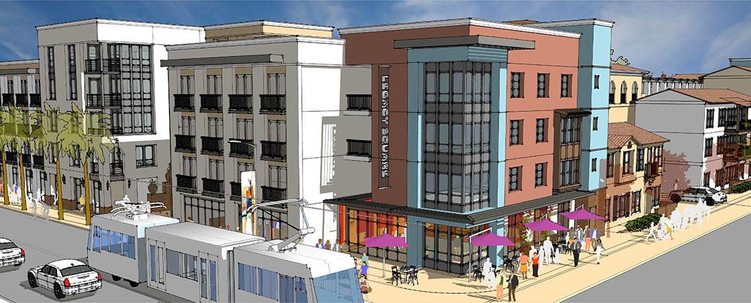 Legact Square rendering, Santa Ana, California