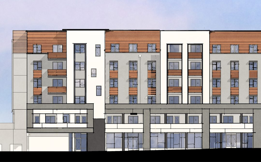 456 West architect rendering
