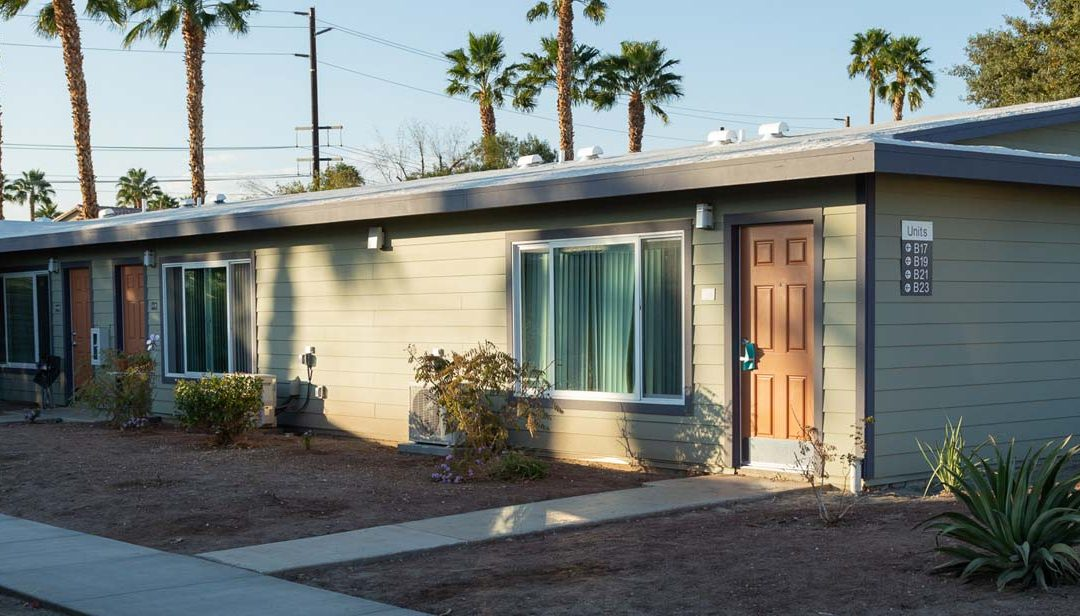 Studio apartments open in Cathedral City for homeless seniors with mental illness