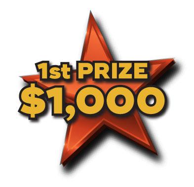 1st Prize $1,000