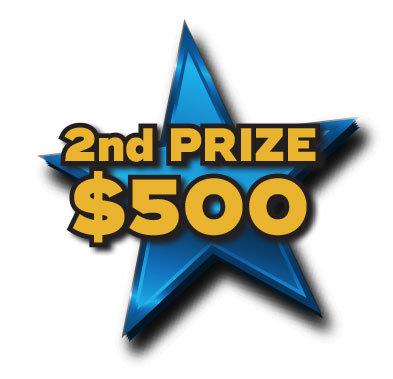 2nd Prize $500