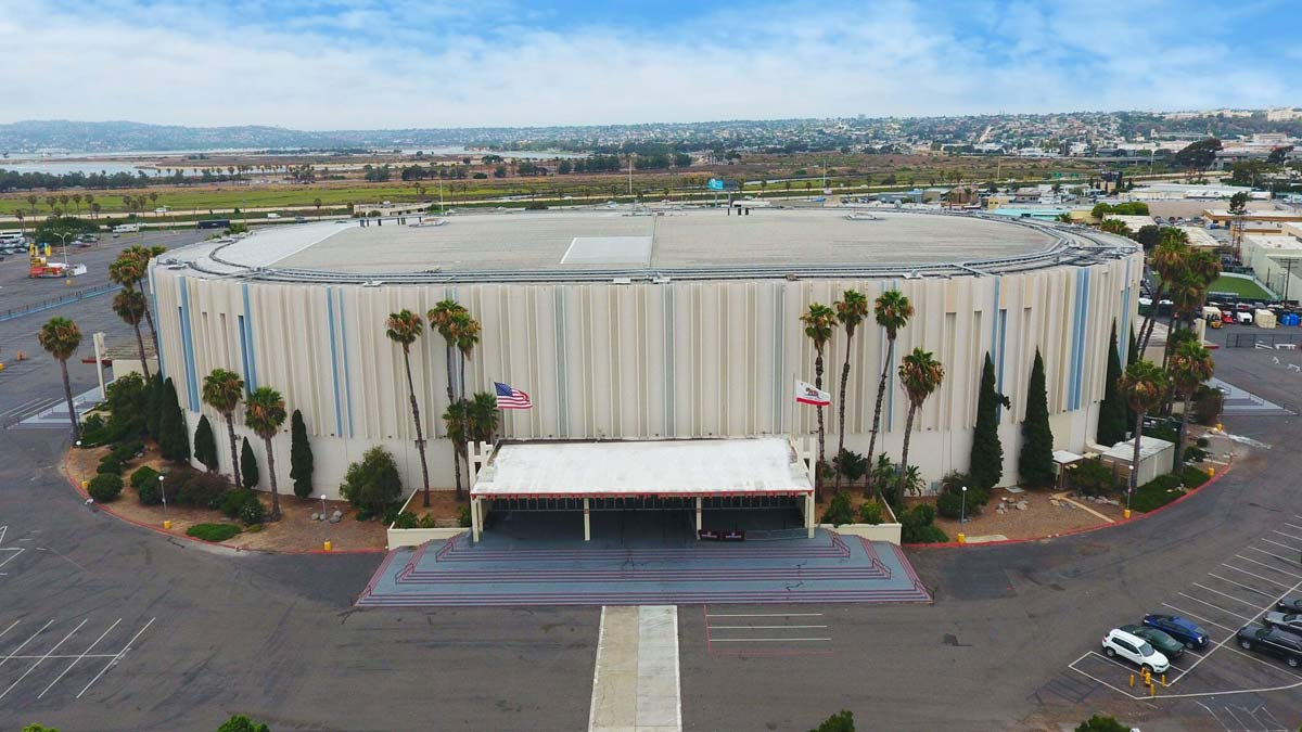 San Diego Sports Arena, proposed site for Discover Midway